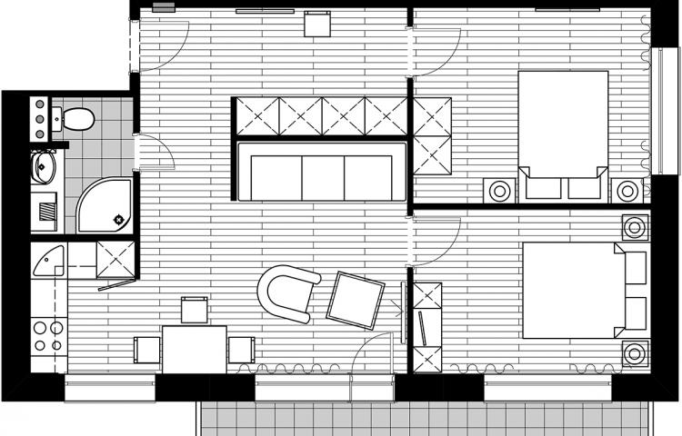 Перепланировка 4 х комнатной квартиры и варианты проекта